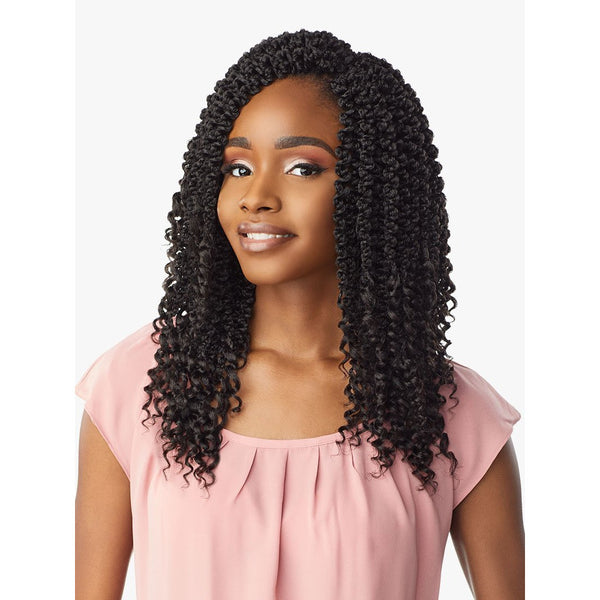 Sensationnel Synthetic Lulutress Pre- Looped Braids – 3X 3D Passion Twist 12""