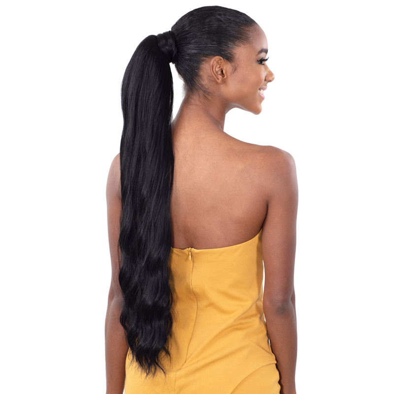 Shake-N-Go Organique MasterMix Pony Pro Wrap-Around Synthetic Ponytail – Dream Wave 24""