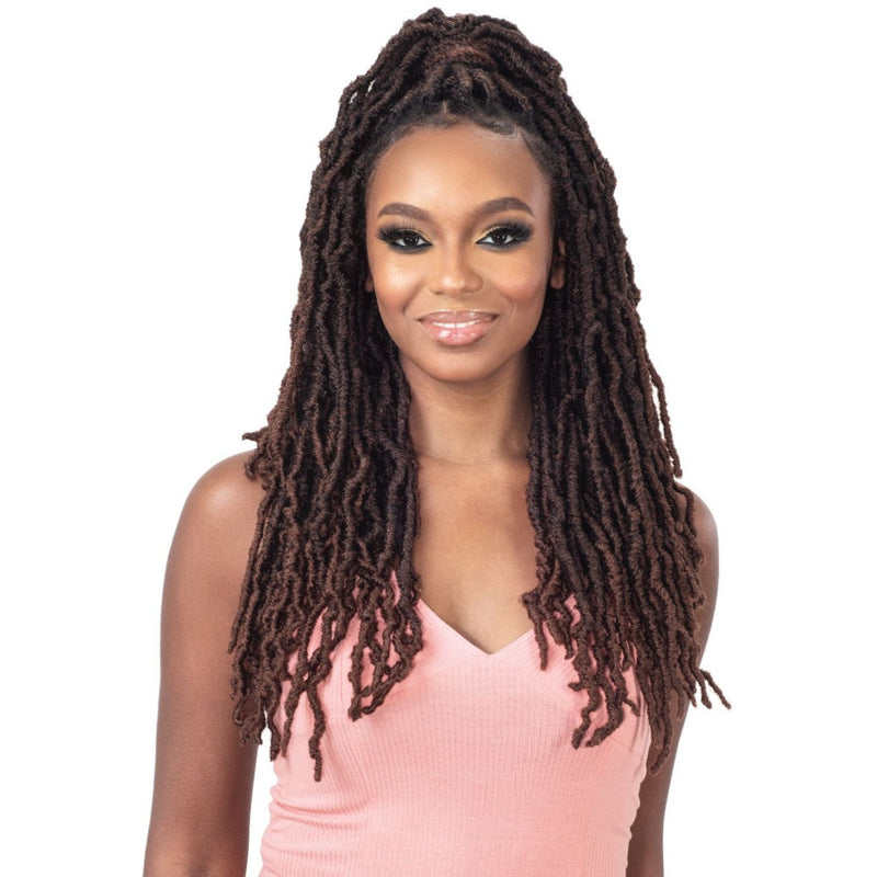 Freetress Synthetic Crochet Wrap n Lock Braid - Starla Loc 18""
