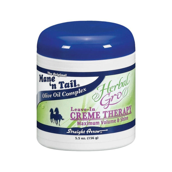 Mane N' Tail Herbal Gro Olive Oil Complex Leave-In Cream Therapy  5.5 OZ