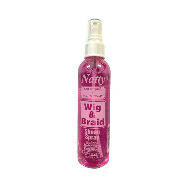 Natty Wig & Braid Sheen Spray 4 OZ