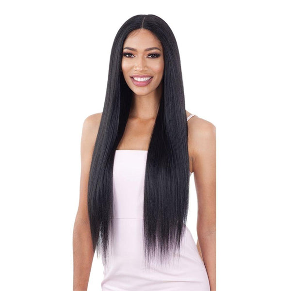 Shake-N-Go Synthetic Organique Lace Front Wig - Light Yaky Straight 30""