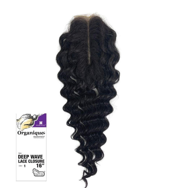 Shake-N-Go Organique MasterMix Lace Closure - Deep Wave 16""