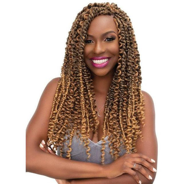 Janet Collection Synthetic Nala Tress Braid - Passion Water Wave 24""