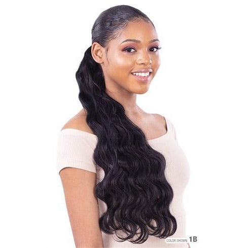 Model Model Synthetic Pony Pro Quick Wrap Ponytail - Foxy Wave 24""