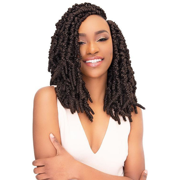 Janet Collection Nala Tress Synthetic Crochet Braids - Spring Twist 16""