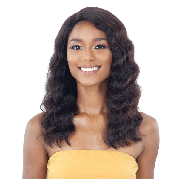 Shake-N-Go Naked 100% Human Hair Lace Front Wig - Lennie