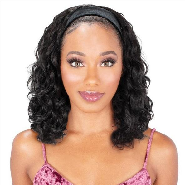 Zury Sis Synthetic Velvet Headband Wig - VB-H Asol