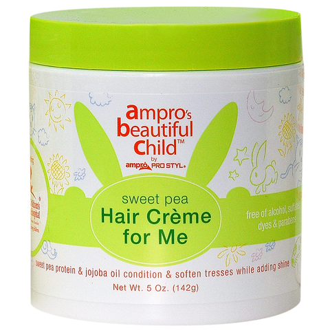 Ampro Beautiful Child Sweet Pea Hair Crème For Me 5 OZ