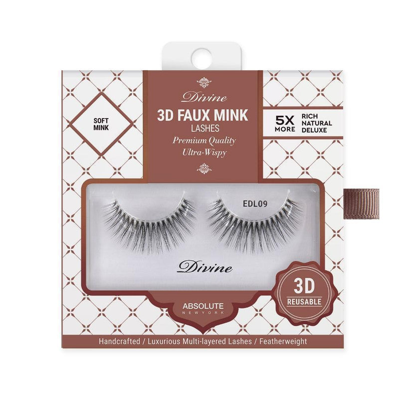 Absolute New York Divine 3D Faux Mink Lashes – EDL09 Selene