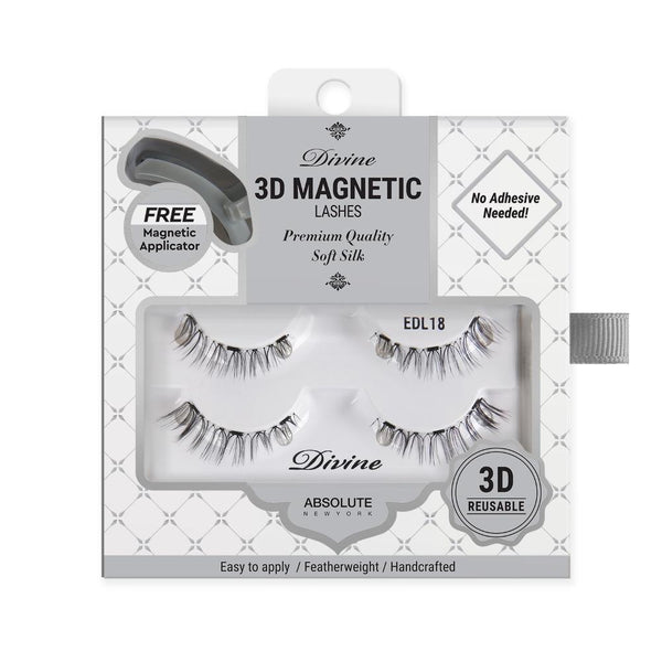Absolute New York Divine 3D Magnetic Lashes – EDL18 Metis