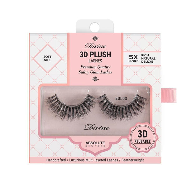 Absolute New York Divine 3D Plush Lashes – EDL03 Athena