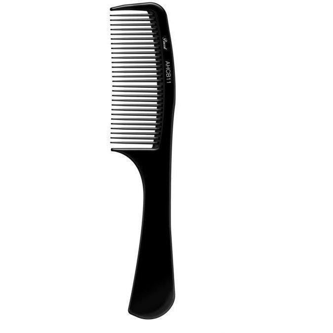 "Absolute New York Pinccat 8.5"" Large Handle Fine Tooth Carbon Comb"
