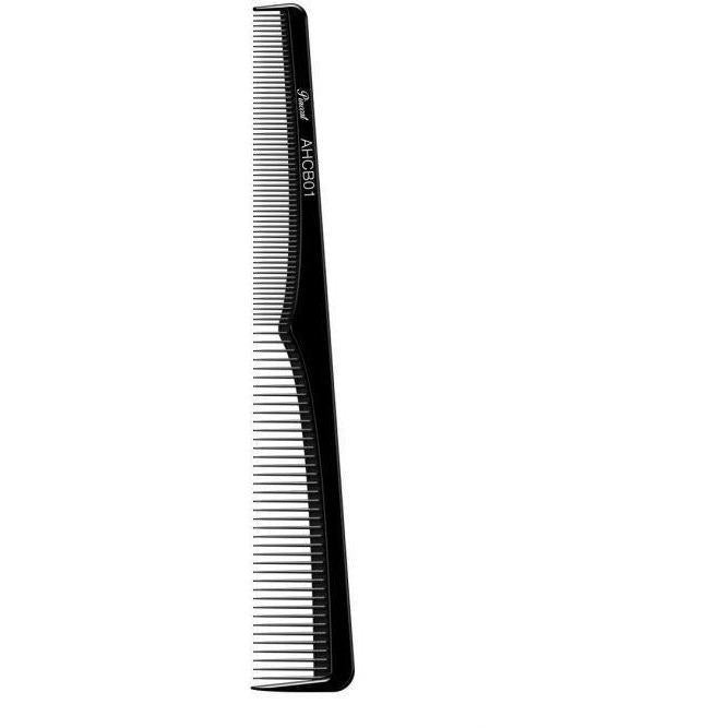"Absolute New York Pinccat 7"" Styling Extra Fine Tooth Carbon Comb"