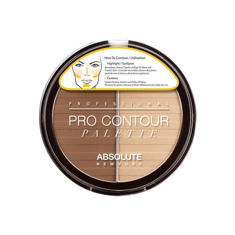 Absolute New York Pro Contour Palette