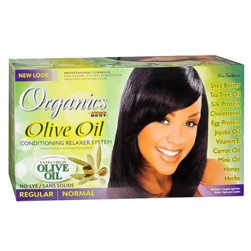 Africa's Best Organics Olive Oil Conditioning Relaxer System REGULAR