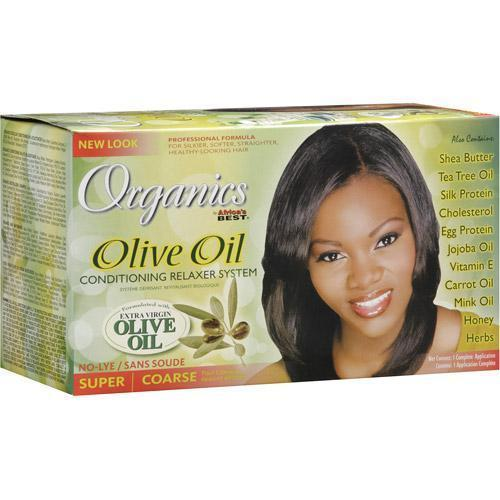 Africa's Best Organics Olive Oil Conditioning Relaxer System SUPER
