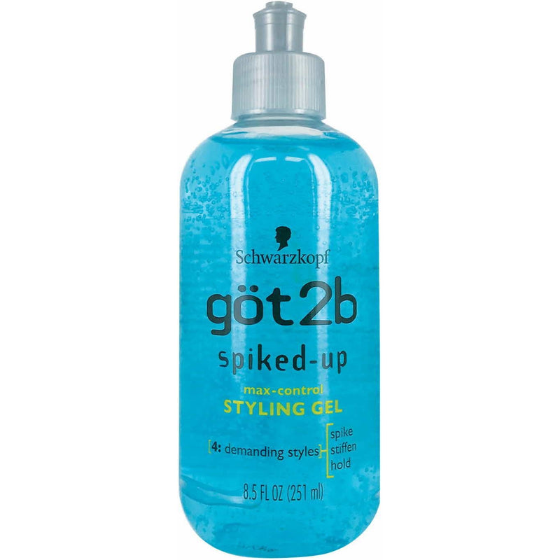got2b Spiked-Up Max-Control Styling Gel 8.5 OZ