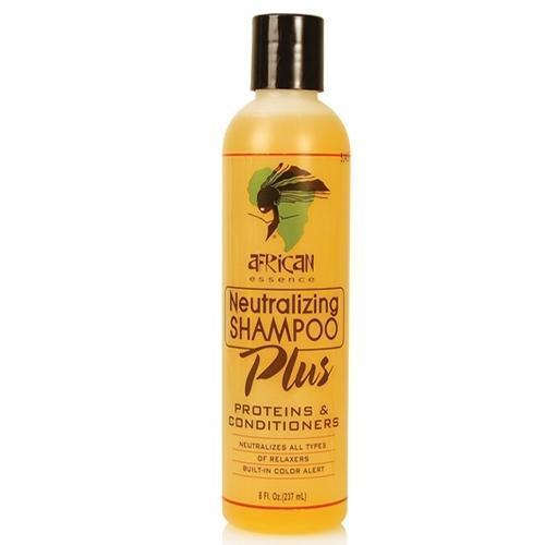 African Essence Neutralizing Shampoo Plus Proteins & Conditioners 8 OZ