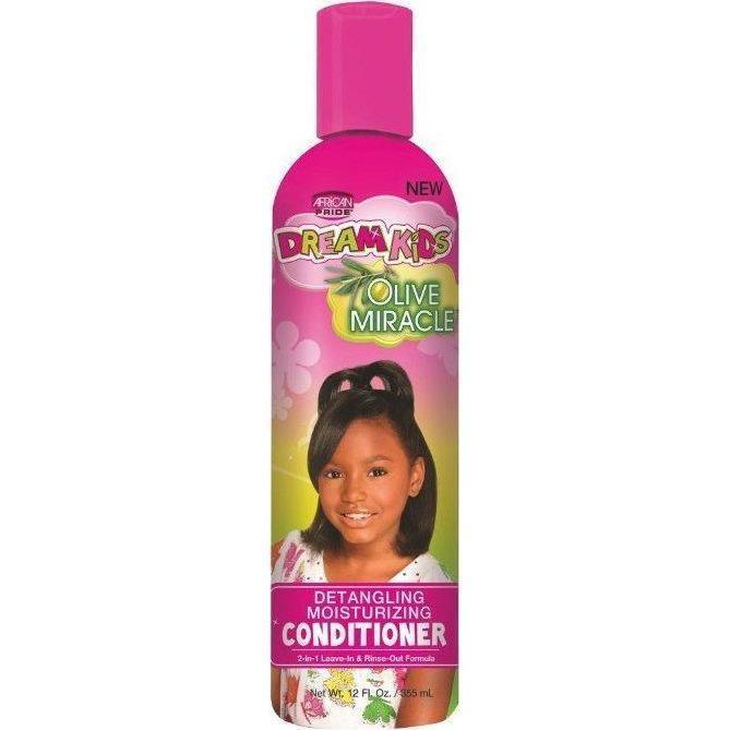 African Pride Dream Kids Olive Miracle Conditioner 12 OZ