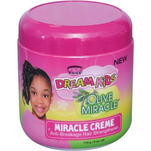 African Pride Dream Kids Olive Miracle Miracle Creme 6 OZ