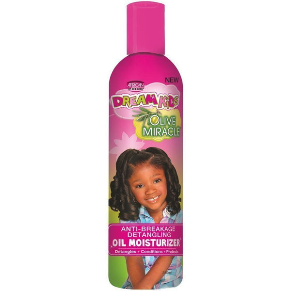 African Pride Dream Kids Olive Miracle Oil Moisturizer 8 OZ