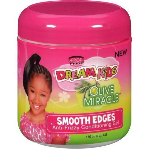 African Pride Dream Kids Olive Miracle Smooth Edges 6 OZ