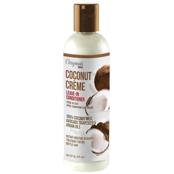 Africa's Best Originals Coconut Creme Leave-In Conditioner 8 OZ