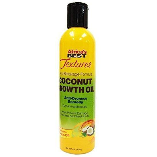 Africa's Best Textures Anti-Breakage Formula Coconut Growth Oil 8 OZ