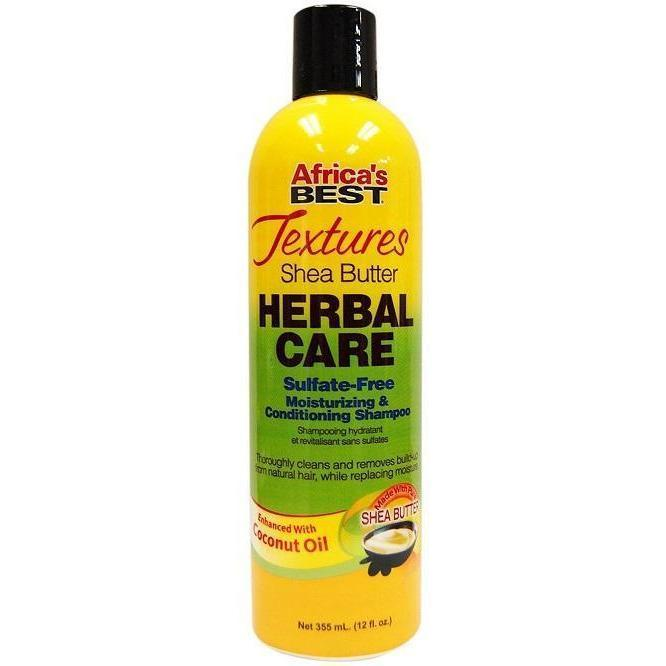Africa's Best Textures Herbal Care Moisturizing & Conditioning Shampoo 12 OZ