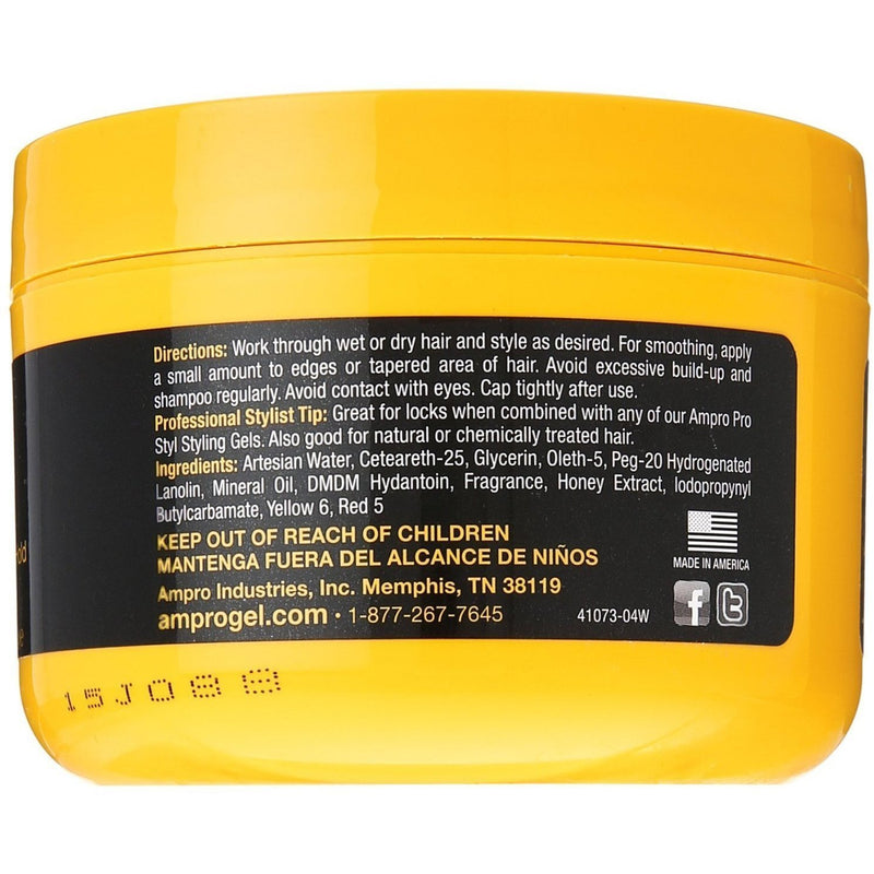 Ampro Shine 'n Jam Conditioning Gel Extra Hold 8 OZ