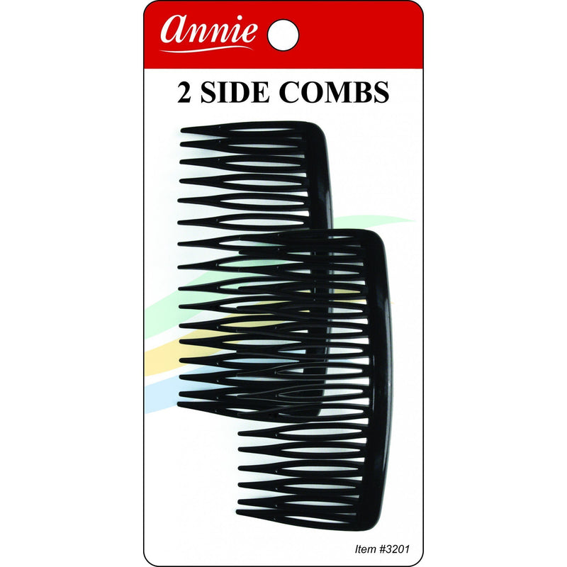 Annie Side Combs Large 2 PCS