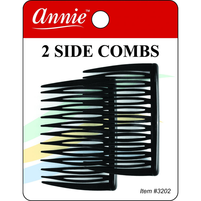 Annie Side Combs Medium 2 PCS