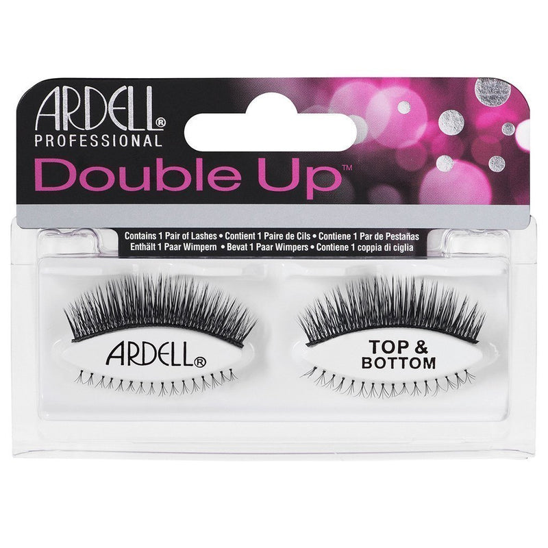 Ardell Fashion Double Up Top & Bottom Lashes – Black