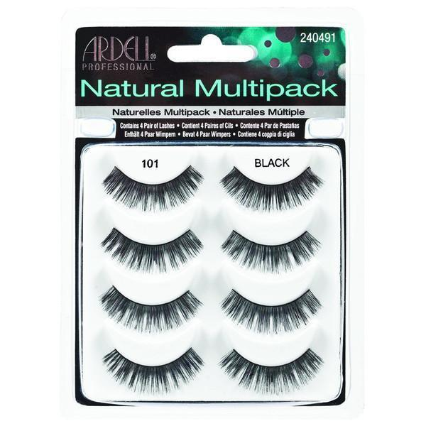 Ardell Fashion Lashes Natural Multipack 101 Black