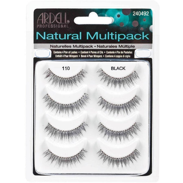 Ardell Fashion Lashes Natural Multipack 110 Black