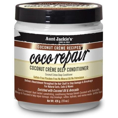 Aunt Jackie's Coco Repair Coconut Crème Deep Conditioner 15 OZ