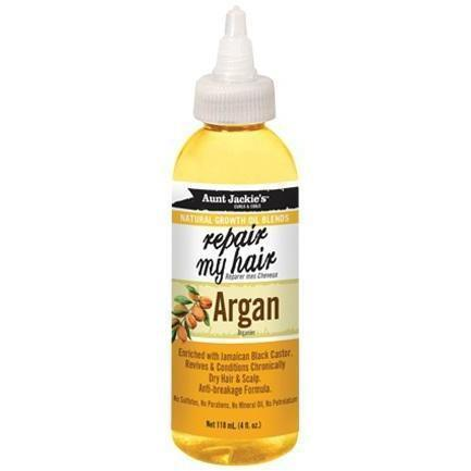Aunt Jackie's Natural Growth Oil Blends With Argan – Repair My Hair 4 OZ