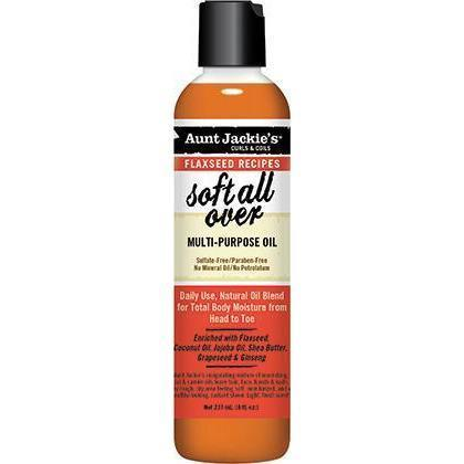 Aunt Jackie's Soft All Over Multi-Purpose Oil 8 OZ