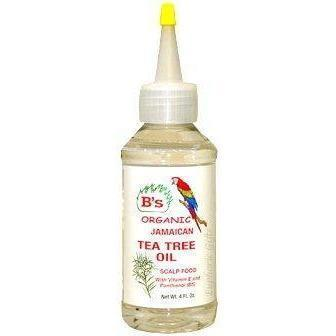 B's Organic Jamaican Tea Tree Oil 4 OZ