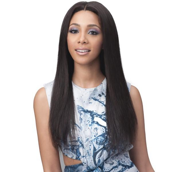 Bobbi Boss Unprocessed Bundle Hair Full Lace Wig - Straight 24""