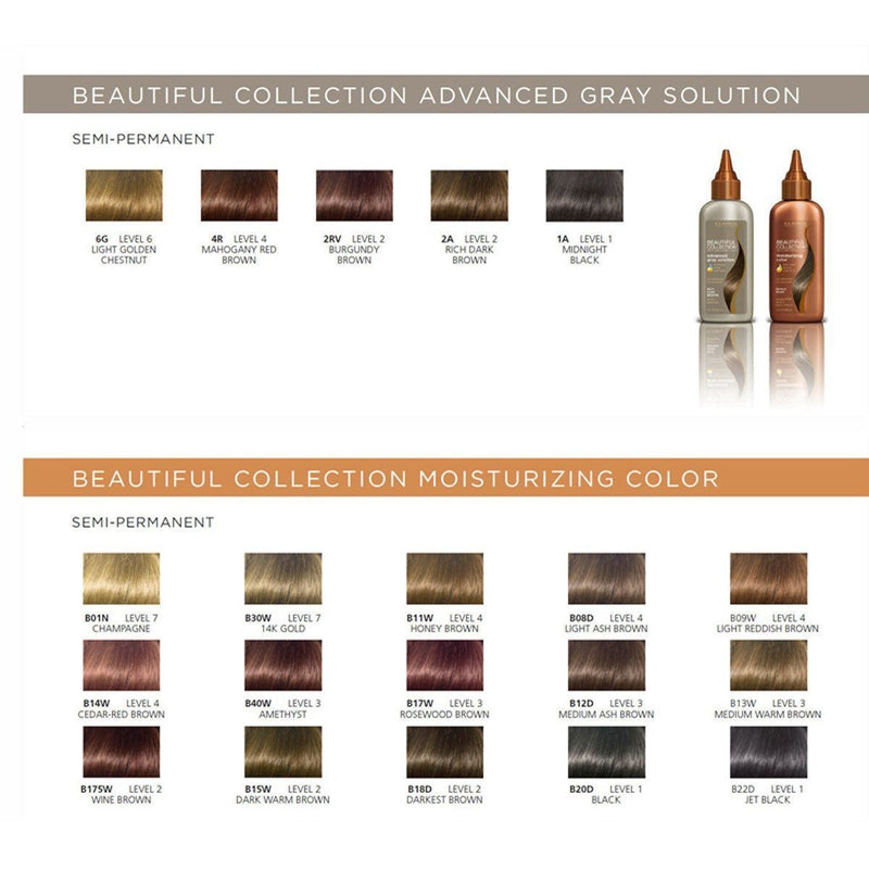 Clairol Beautiful Collection Moisturizing Color – Med Rosewood Brown