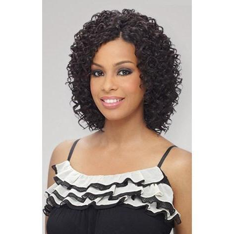 MilkyWay Que Short Cut Series Weave – Beach Curl 3PCS