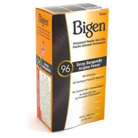 Bigen Permanent Powder Hair Color – Deep Burgundy