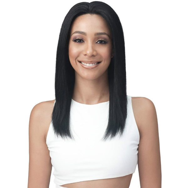 Bobbi Boss Natural Hairline 100% Human Hair Lace Front Wig – MHLF-407 Shanta Wet & Wavy