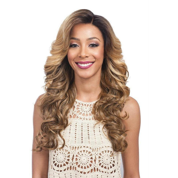 "Bobbi Boss Synthetic 7"" x 4"" Swiss Lace Front Wig – MLF-280 Moonstone"