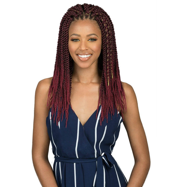 Bobbi Boss Bomba Synthetic Braids – Bomba Senegal Twist
