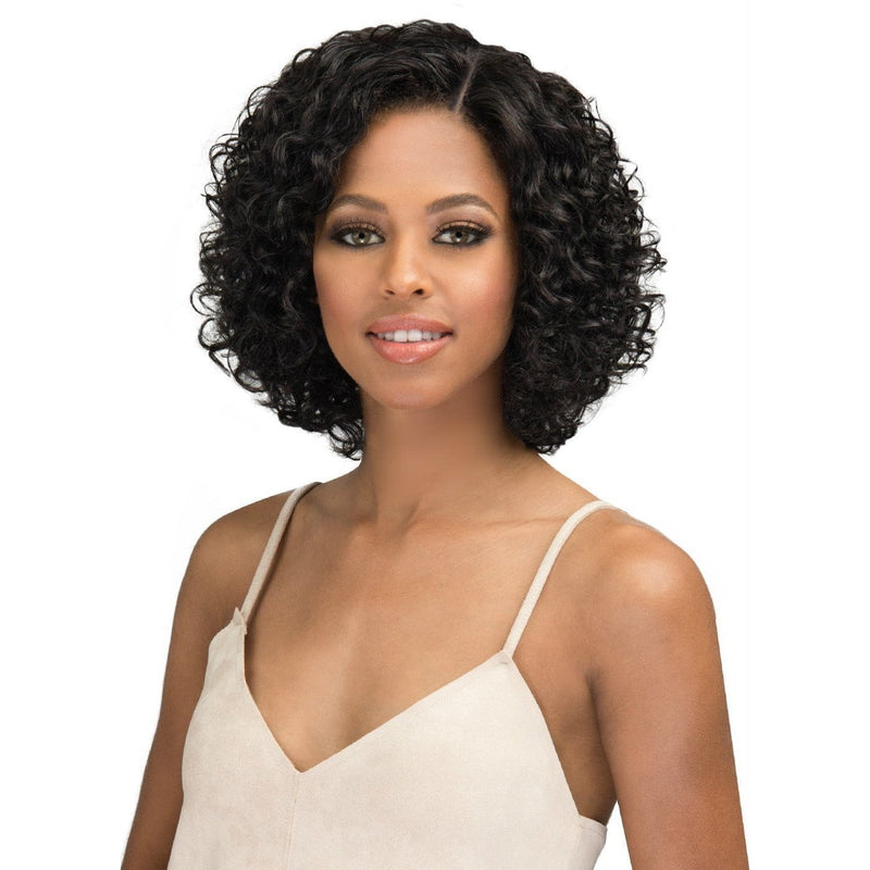 Bobbi Boss Human Hair Natural Hairline Swiss Lace Front Wig – MHLF-903 Melrose