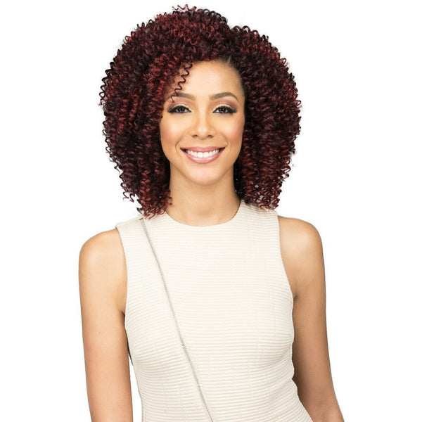 Bobbi Boss Miss Origin Short Style Human Hair Blend Weave – Jerry Curl