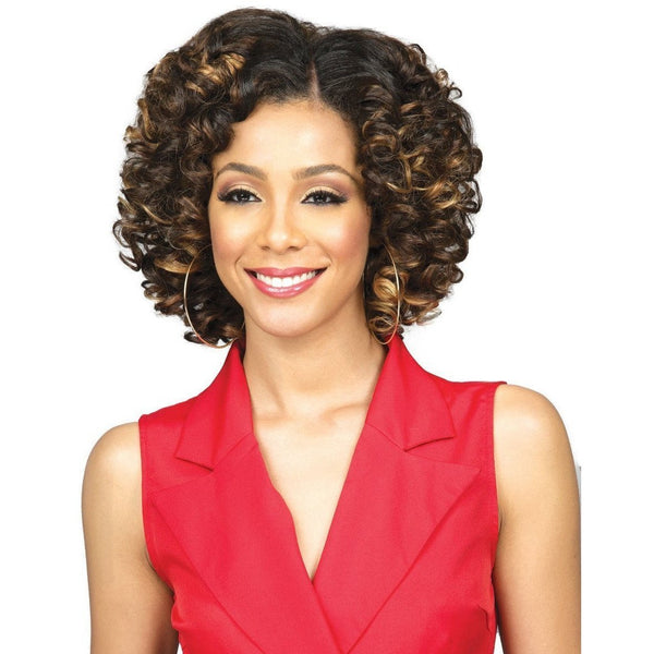 Bobbi Boss Miss Origin Short Style Human Hair Blend Weave – Oprah Wave